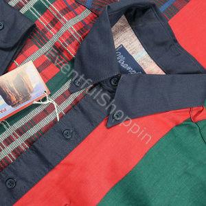 VTG 90s NOS Wrangler Tartan Plaid Western Shirt